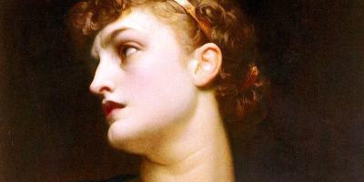 Antigone by Frederic Leighton, 1882