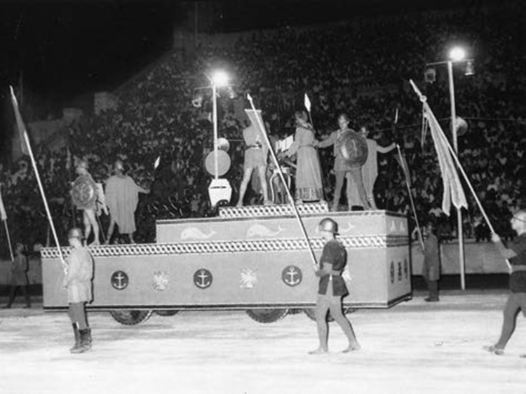 Parade float 1967