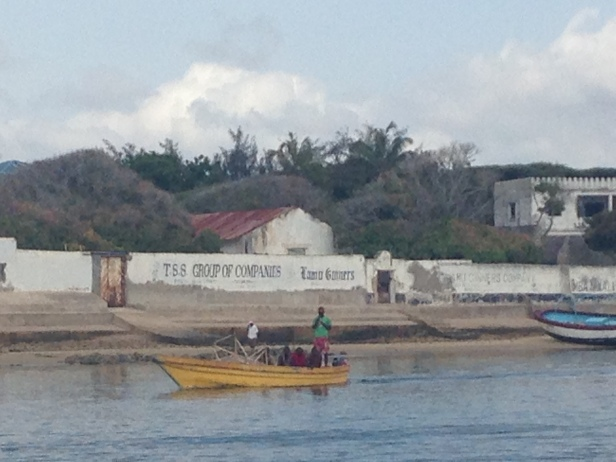 old cotton factory in Lamu island